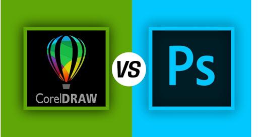 CorelDraw vs Photoshop: Nên dùng cái nào và khi nào?