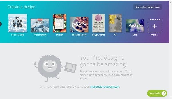 3 Website tạo ảnh quảng cáo đơn giản và đẹp.