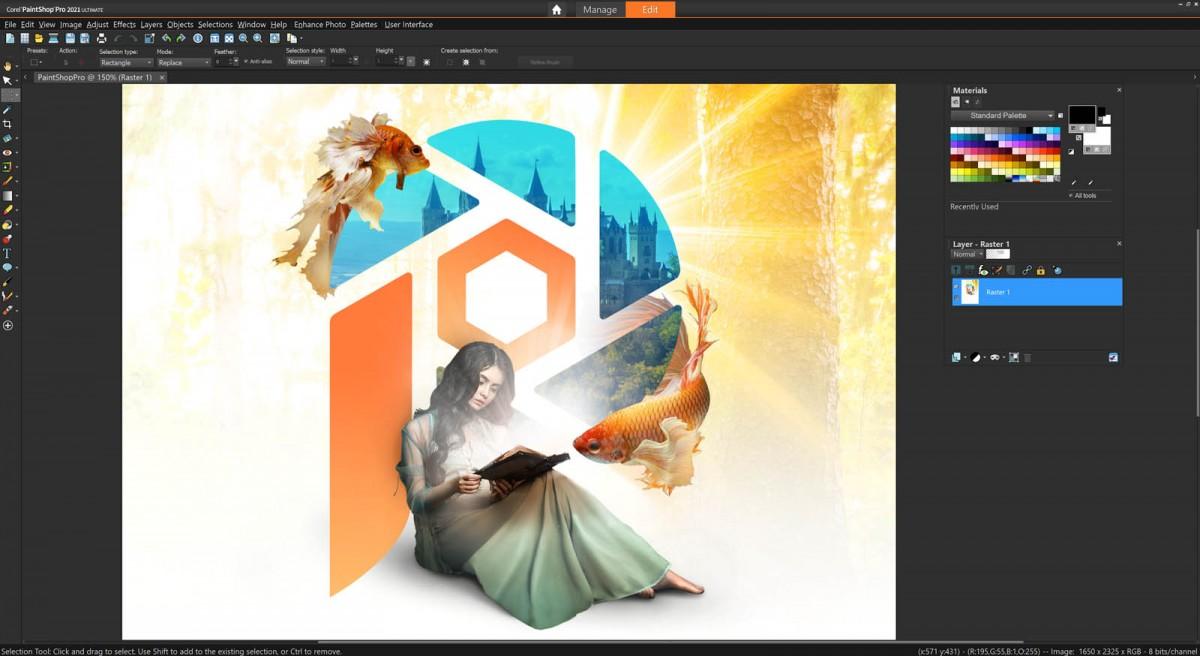 Corel paintshop pro cách dùng - kiến thức căn bản - Remove.vn