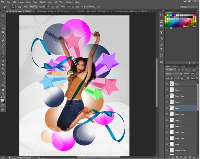 Hướng dẫn thiết kế poster bằng phần mềm photoshop