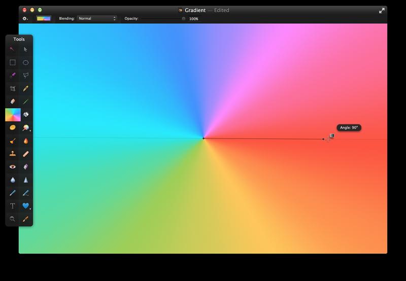 Công cụ Gradient Tool trong photoshop dùng để làm gì?