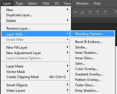 Tìm hiểu về Layer Style trong Photoshop CS6 - THIẾT KẾ ĐỒ HỌA - ĐAM MÊ VÀ  SÁNG TẠO