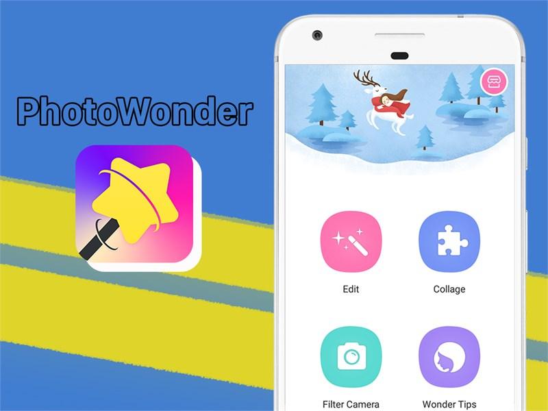 Ứng dụng Photo Wonder: Chỉnh sửa hình ảnh chuyên nghiệp   Link tải, cách sử  dụng, mẹo thủ thuật